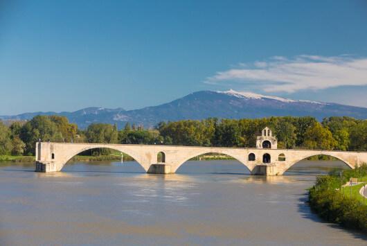 Pont Saint-Bénézet (ou pont d'Avignon) - ©KESSLER G