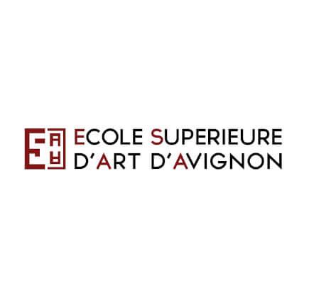 logo - ©École supérieure d'art d'Avignon