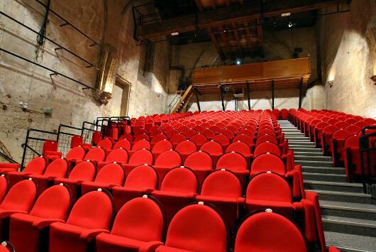 Salle Léo Ferré - ©Théâtre du Chêne Noir