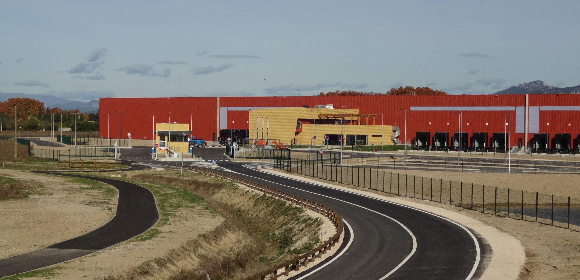 Pays Réunis d'Orange – Courthézon – Grange Blanche Business Parks I and II
