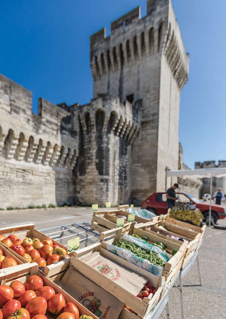 Marché à Avignon