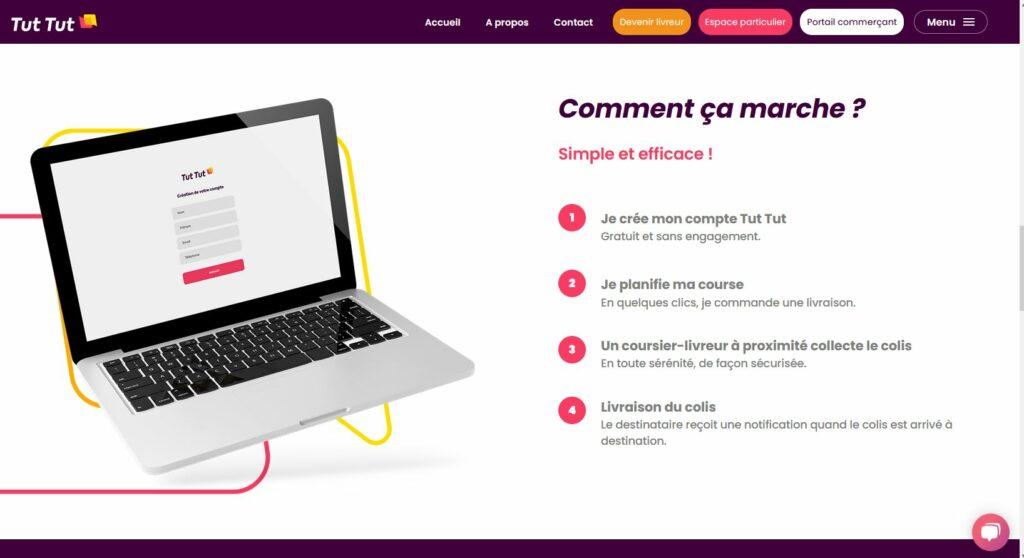 Site Internet du Tut tut